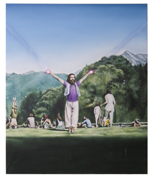 Mountain Man (Sun Giant), 2009, 240x200cm, oil on canvas